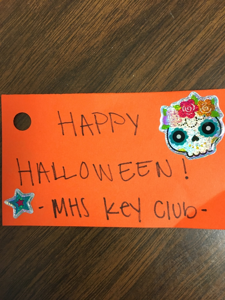 Thanks Key Club!