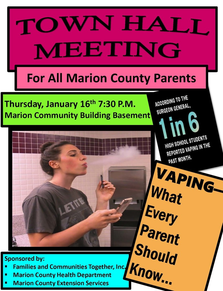Come Learn About Vaping