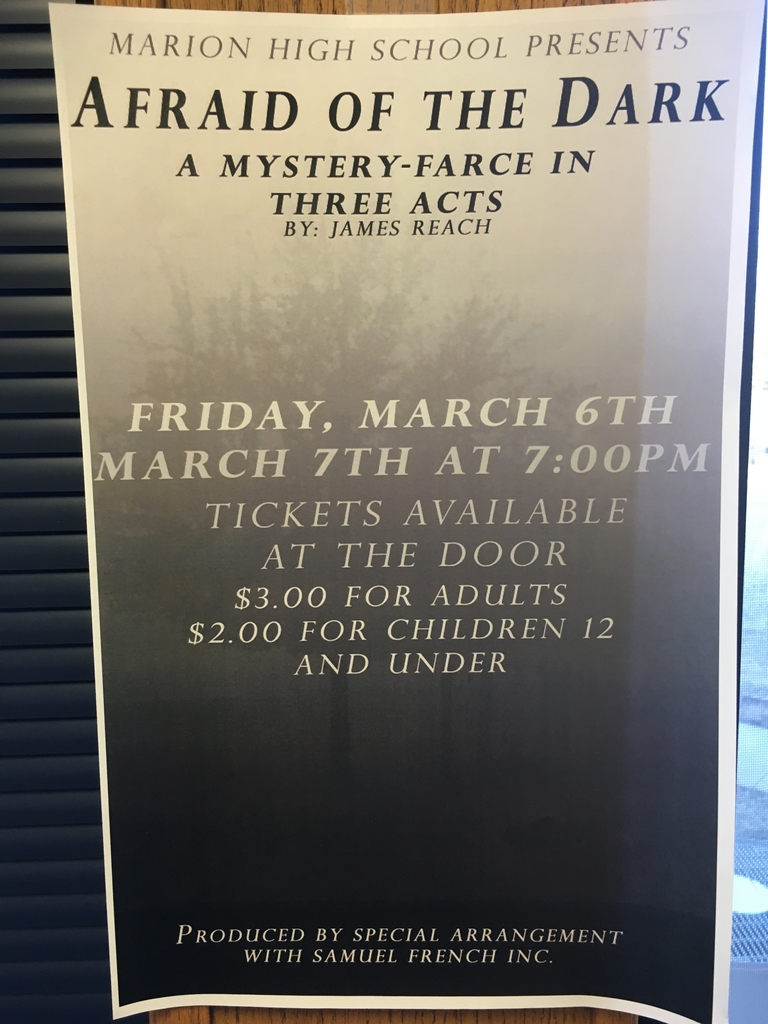 MHS presents Afraid of the Dark!