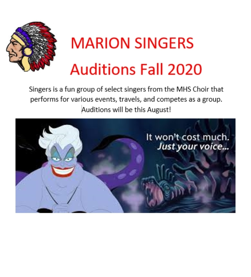 Come Audition!